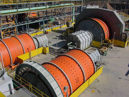Mineral Processing Clutch reduces component wear, power draw.