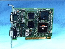 RS-422/485 Card operates at speeds to 18 Megabaud.