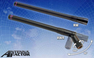 Dipole Antennas are available in 2.45 GHz models.