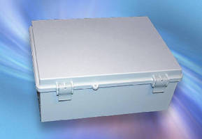 Latchable Plastic Enclosures suit wet and harsh environments.