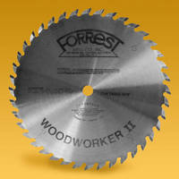 Forrest's Square-Top Woodworker II Blades Deliver Absolute 90° Bottom Grooves Without Score Marks