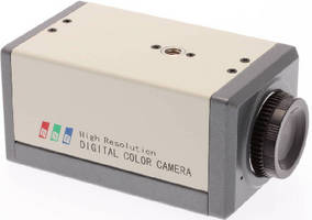 VGA Color Digital Camera provides HD inspection.