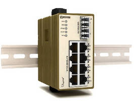 Managed Ethernet Switch includes routing functionality.
