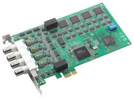 Analog Input PCIe Card accommodates high-speed sampling.