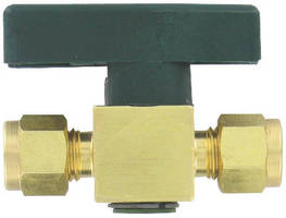 Compact Plug Valve handles up to 3,000 psig.