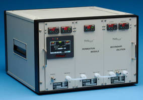 Gas Standards Generator deals with trace sulfur compounds.