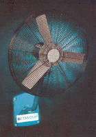 Air Circulators feature stainless steel construction.