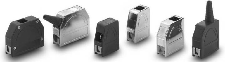 Junction Shells feature quick release system.