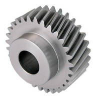 Parallel Helical Gears are offered in bossed or plain versions.