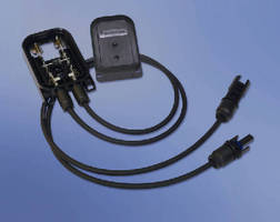 Power Distribution Junction Box targets PV industry.