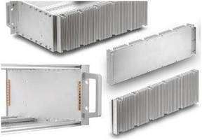 EMC Subrack Heatsinks ensure reliable operation.