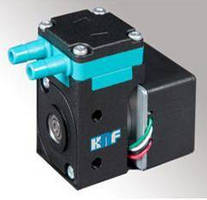Compact Liquid Diaphragm Pump has self-priming design.