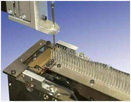 PCB Header Feeder operates at speeds to 1 header per second.