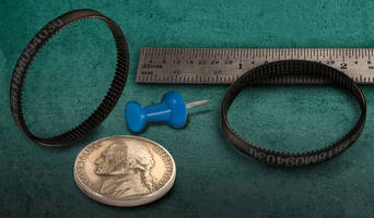 Polyurethane, 1 mm Pitch Timing Belts serve miniature applications.