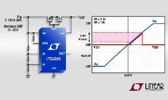 Voltage Controller IC includes various protection features.