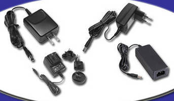 AC/DC External Adapters are intended for OEM applications.
