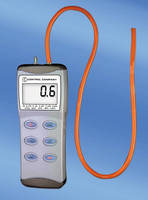 Digital Manometer features 0.5 sec response time.