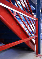 LED-Lit Steel Handrail System safeguards elevated areas.