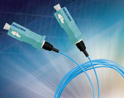 SC Multimode Connectors permit fast in-field termination.