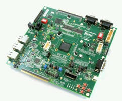 Mixed-Signal FPGA Development Board is supported by Libero® IDE.