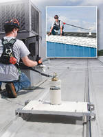 Roof Anchor Post offers permanent or temporary safety solution.