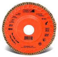 Flap Discs are recommended for heavy-duty applications.