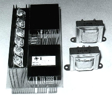 Converters can provide up to 25 VA.