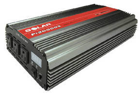 Power Inverter delivers 4,000 W peak power.