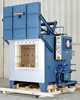 Gas-Heated Box Furnace reached max temperature of 2,000°F.