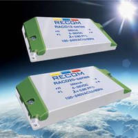 AC Input LED Drivers meet high-brightness lighting needs.