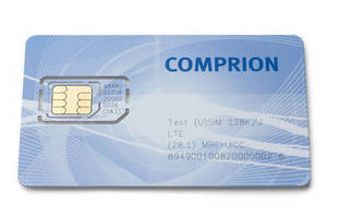 Miniature LTE Test Card is suited for use in mobile devices.