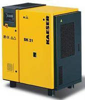 Rotary Screw Compressors suit tight workshop environments.