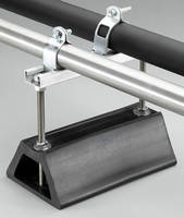 Strut Pipe Supports have height-adjustable design.