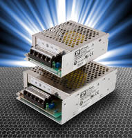 AC-DC Power Supplies include 50, 70, and 100 W models.