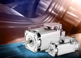 Spindle Motors combine induction and servo technologies.