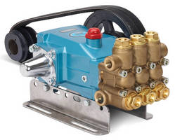 Plunger Pumps deliver pressures to 3,500 psi for cleaning.