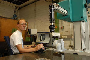 Laser Line Scanner adapts to almost any CMM.