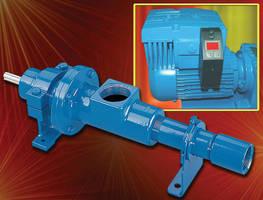 Precision Metering Pump integrates VFD/motor controls.