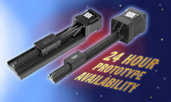 Haydon Kerk Motion Solutions Now Offers Motorized Linear Rail Prototypes for 24 Hour Shipment