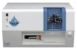Particle Imaging Instrument analyzes samples down to 50 µL.