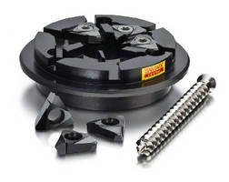 Thread Whirling Inserts and Holders handle difficult to machine materials.