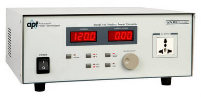 Power Converter (500 VA) does not require separate AC source.