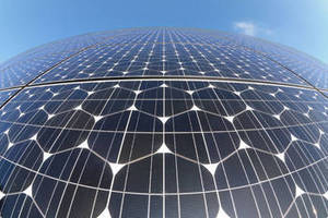 Flexible, Conductive Adhesive replaces solder in solar cells.