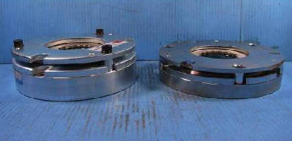 Spring Applied Holding Brakes feature thin profile.