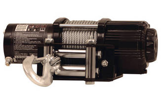 Off-Road Utility Vehicle Winch offers 4,000 lb capacity.