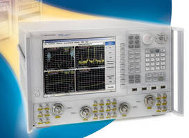 Four-Port Vector Network Analyzer offers microwave measurements.