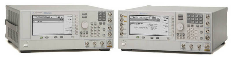 RF, Microwave Signal Generators offered with low-noise option.