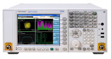 Signal Analyzer offers performance-enhancing options.