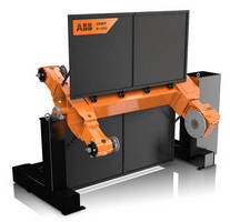 Robotic Workpiece Positioners suit metal finishing applications.