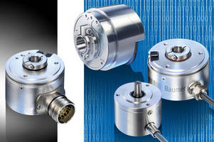 Incremental Encoders enable flexible speed, position monitoring.